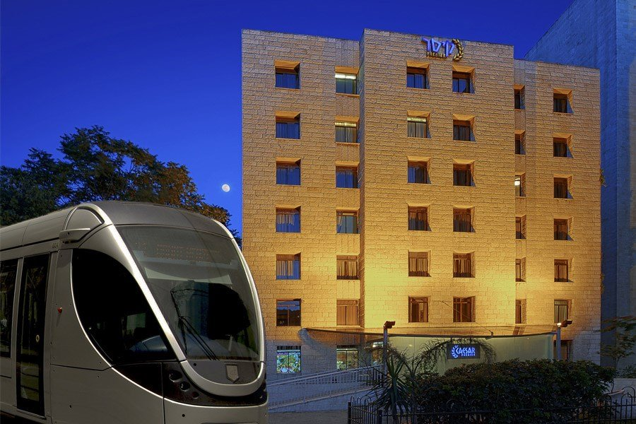 Кейсар Иерусалим отель - Трамвай
