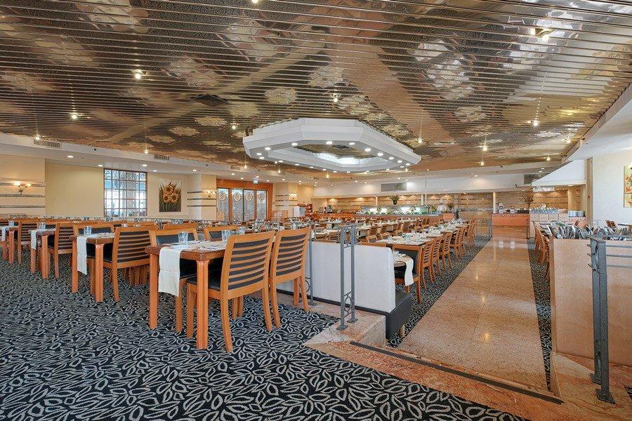 Кейсар Тверия отель - Рестораны