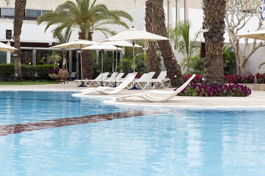Кейсар Эйлат отель - бассейн