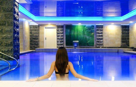 Отель Кейсар Премьер Тверия - бассейн